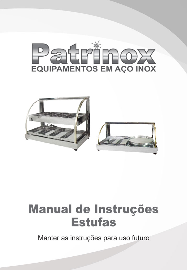 Manual Estufas - Patrinox